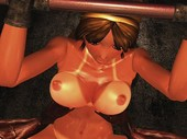 Project M.O.T – Namaiki Kurogal Tied and Fucked On a Pipe