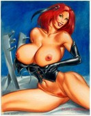 Bloodrayne - artwork collection