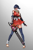 Daisy - Chainsaw 3D-atrwork and animations