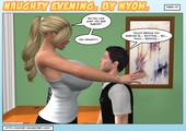naughty evening by nyom