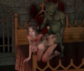 Moiarte - Orc Fucking - Cute Elf
