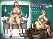PleasureNight - The Coogars of Coogar High ch1